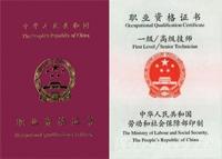 勞動部國家職業資格一級(高級技師級)
