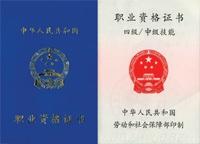 勞動部國家職業資格四級(中級)