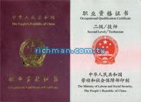 國家職業資格二級(技師)